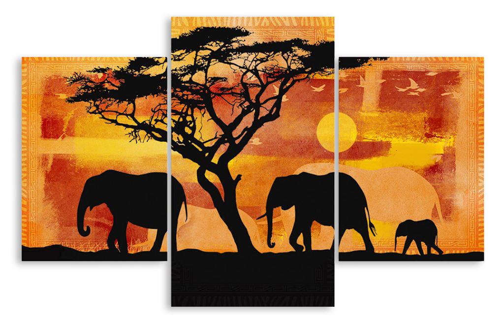 Картины своими руками слона