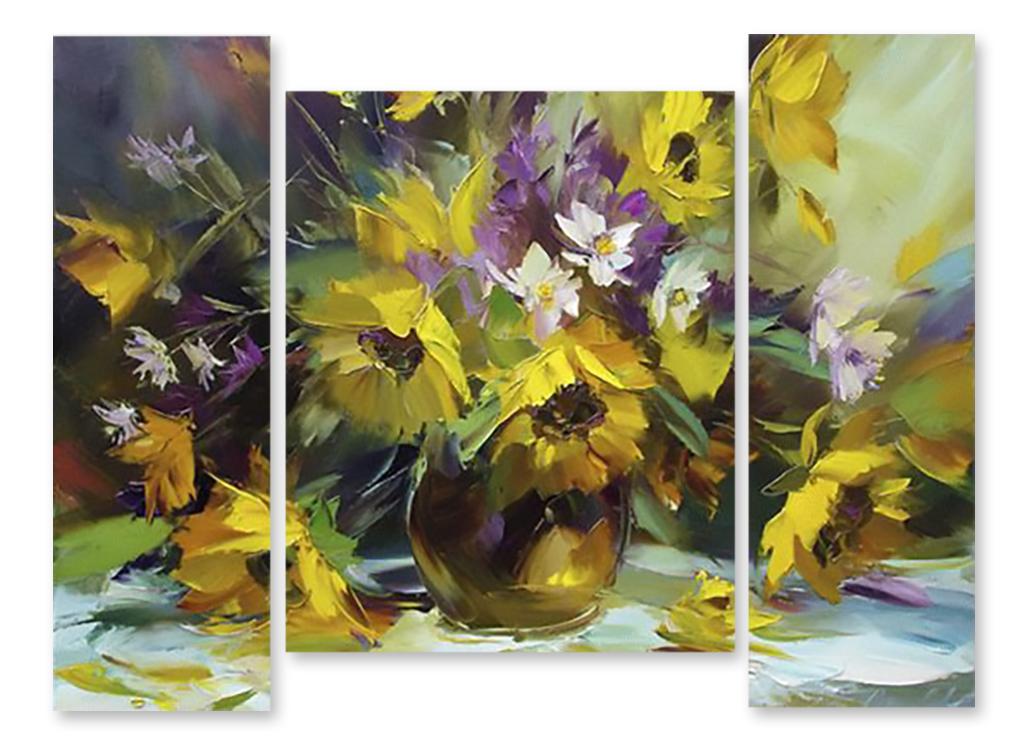Купить картину цветы недорого