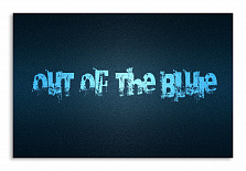 "Постер 975 ""Out of the bluie"""