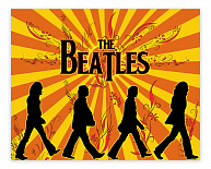 "Постер 604 ""The Beatles"""